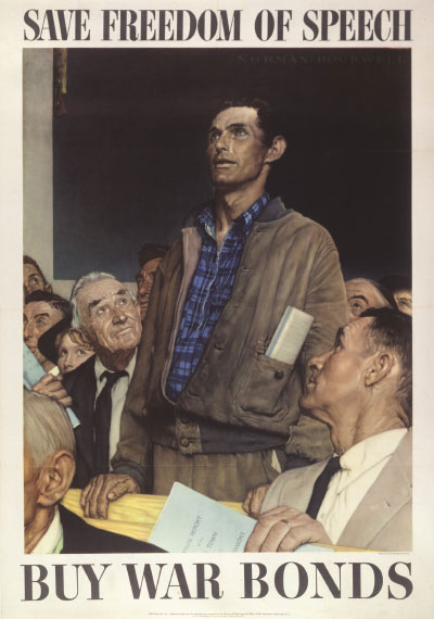 Four Freedoms Poster (speech)