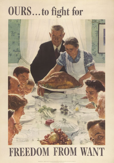 Four Freedoms Poster (want)