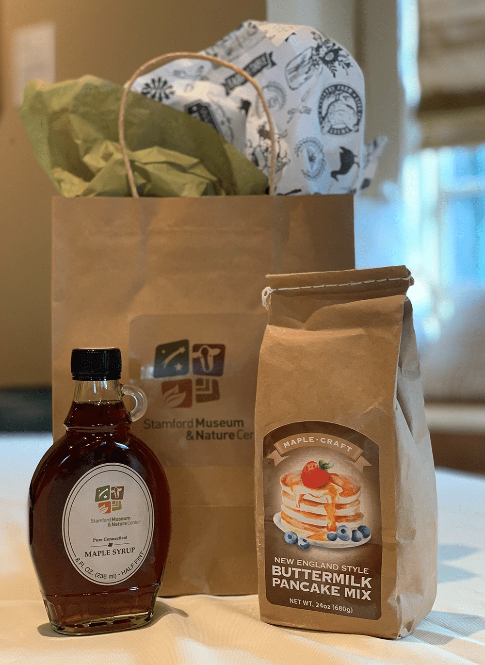 SM&NC Maple Syrup with Maple-Craft Buttermilk Pancake Mix