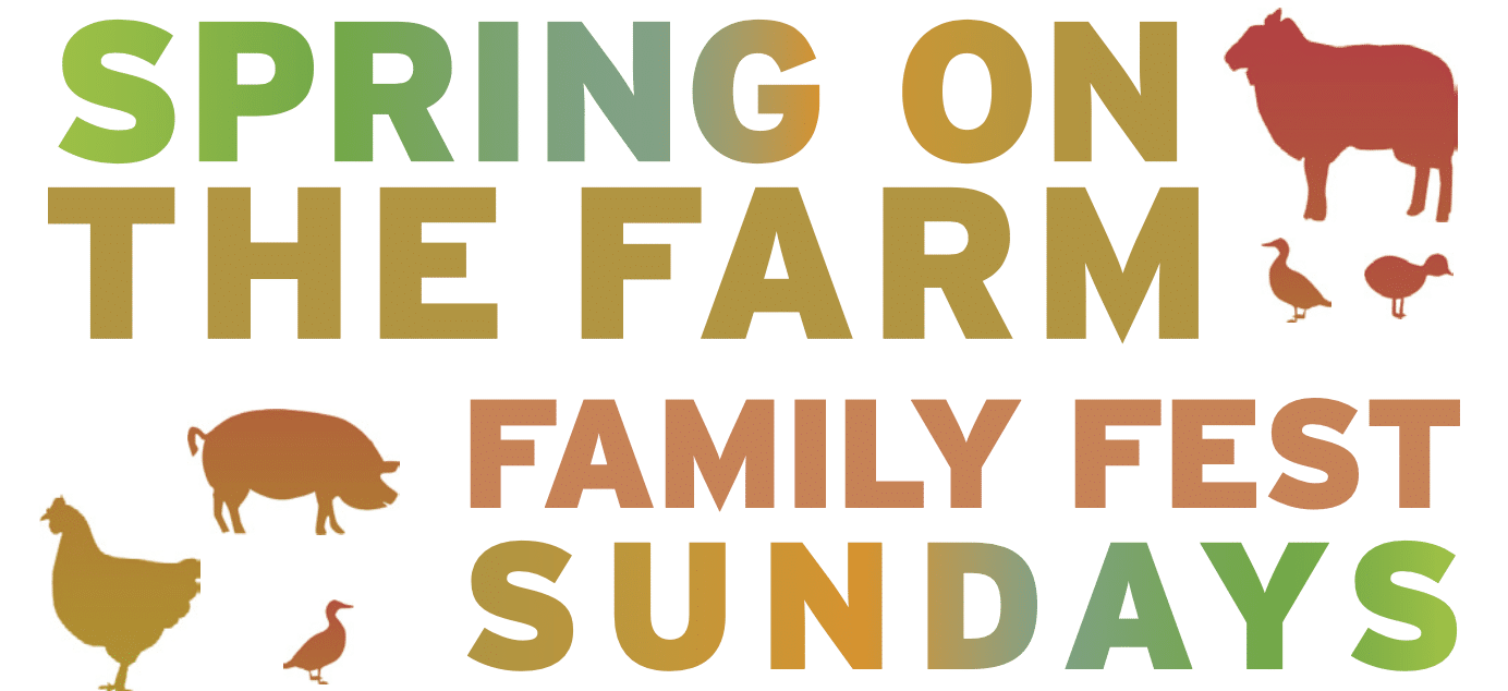 Spring on the Farm banner